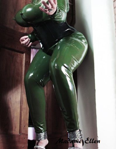 Latex Catsuit size XXL